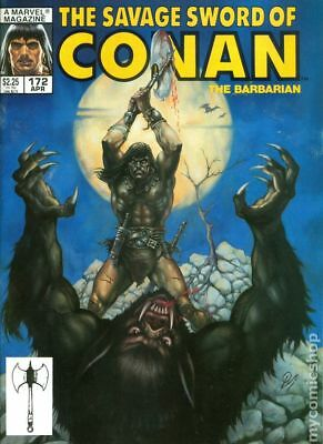 Savage Sword of Conan (Magazine) #172 1990 VF Stock Image