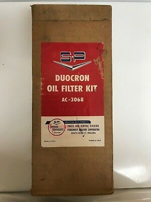 Studebaker Duocron Oil Filter Kit AC-3068 NOS