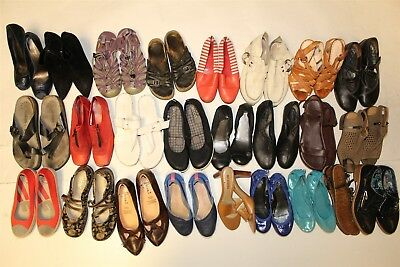 Lot Wholesale Used Shoes Rehab Resale Cole Haan Arche Mephisto Coach Lucky cBfS
