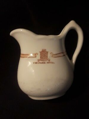 Antique Creamer From The Park Hotel