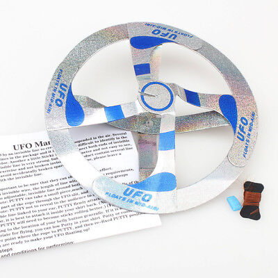 Flying UFO Disk Amazing Mystery Magic Trick Floating Cool Children Toy Saucer US