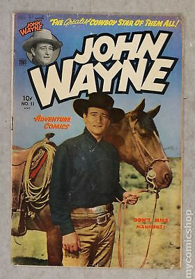 John Wayne Adventure Comics #11 1951 GD/VG 3.0