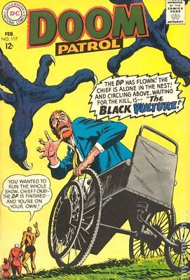 Doom Patrol (1st Series) #117 1968 VG- 3.5 Stock Image Low Grade