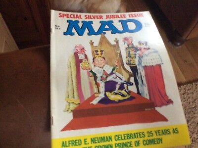 Mad Magazine Special Silver Jubilee Issue No. 182 from 1977