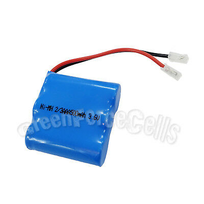 1 pc 2/3 AAA 2/3AAA 3.6V Ni-MH 500mAh Rechargeable Battery Pack For Phone Cell