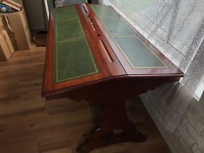 Antique library writing desk 1890s - valued at $2800