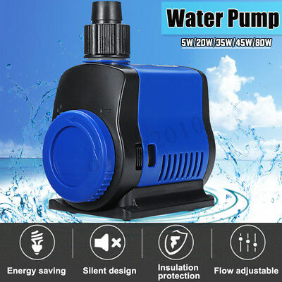 Ultra Quiet 500-3500L/H Submersible Water Pump Clean Clear Dirty Pool Pond