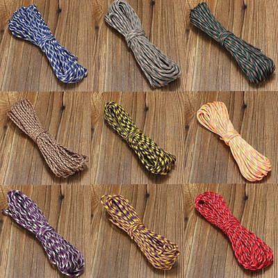 7 Inner Strands High Strength Outdoor Survival Nylon Rope Colorful US