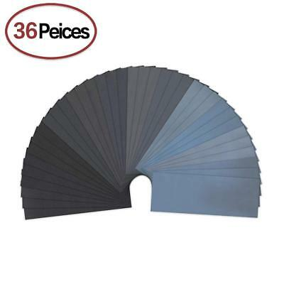 320 to 5000 Assorted Grit Sandpaper for Wood Furniture Finishing, Metal...