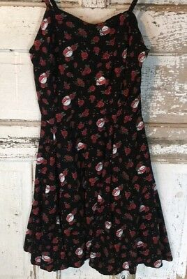 GRATEFUL DEAD Gift Dress Size X-Large-New! Skull and Roses Pattern