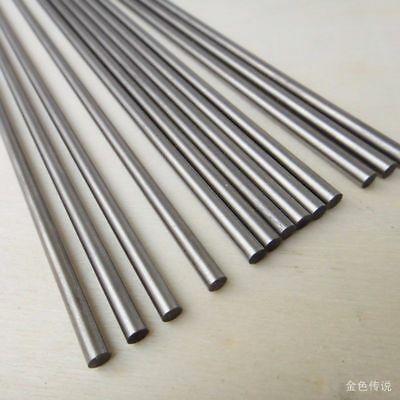 X Round Shaft 2mm Rod 4mm Long 200mm Ground 3mm Axles DIY Steel Technology