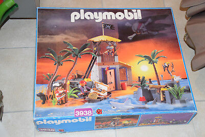 PLAYMOBIL 3938 Piraten-schatzinsel