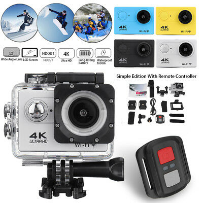 Portable SJ9000 Wifi 1080P 4K Ultra HD Sport Action Camera DVR DV Camcorder New