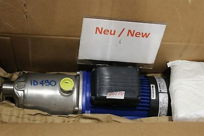 Lowara 2HM76T/D 2F Centrifugal Pump Water Stainless Steel 0.75 Kw Multi-Stage