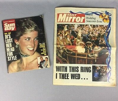 Princess Di Diana Haircut News Of The World Andrew Fergie Wedding Daily Mirror