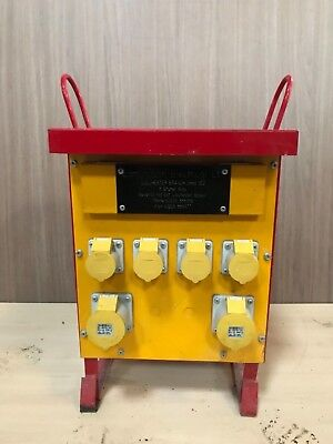 Transformer 10 KVA Site 10KVA 4 x 16A 2 x 32A VGC light use
