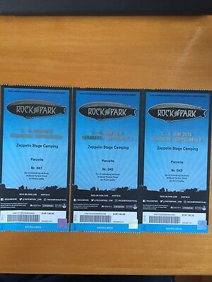 Rock Im Park 2019 Zeppelin Stage Camping Tickets