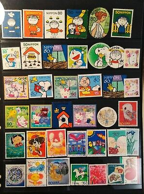 Japan Stamps Selection   used L3