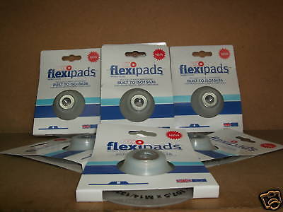 """4 1/2"""" Flexipads Angle Grinder Backing Pad for 115mm sanding discs x M14"""