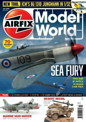 Airfix Model World Magazine April 2019 Latest Issue