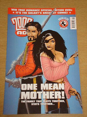 2000Ad #1328 British Weekly Comic Judge Dredd Feb 2003 *