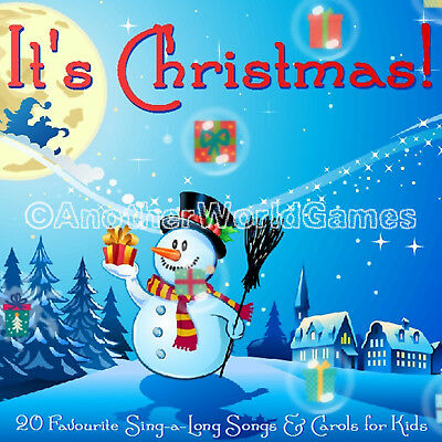 🎅 Kids Christmas Carols Sing-Along: A Cd Of 20 Carol Songs 4 Children Xmas Gift