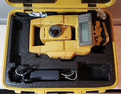 TOPCON GTS-802A Electronic Total Station w/ Case & Charger