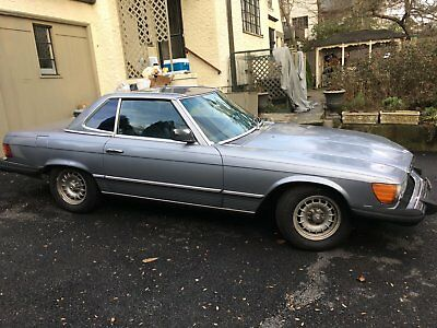 1984 Mercedes-Benz 300-Series  1984 Mercedes-Benz 380sl
