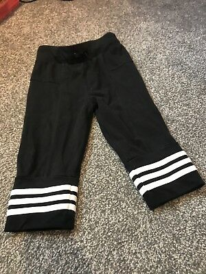 Girls 3/4 Adidas Trousers, Age 7-8