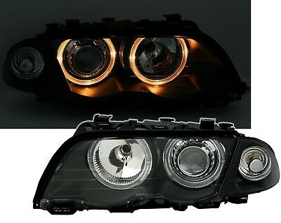 3er BMW E46 98-01 Angel Eyes Xenon Scheinwerfer Set Philips D2S Brenner Blinker