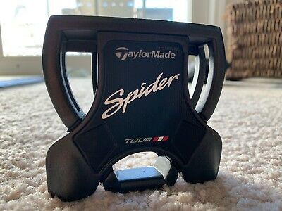 "TaylorMade DJ Spider Tour Black putter 35"" with head cover"