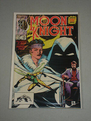 Moon Knight #35 Vol 1 Ds X-Men And Ff App Scarce January 1984