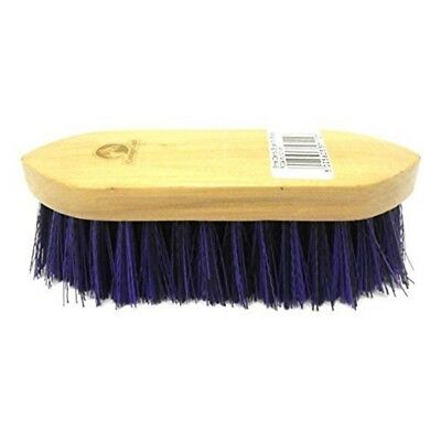 Cottage Craft Mix-bristle Dandy Brush - Blue, Small - Grooming Bristle Horse
