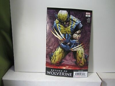 RETURN OF WOLVERINE #1 2nd Printing NO ERROR Corrected NM 2018 Marvel Variant