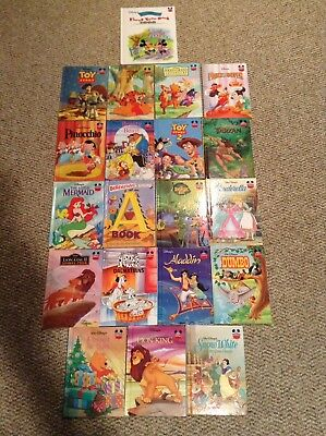Disneys Wonderful World Of Reading Childrens Hardcover Large 20 Book Lot