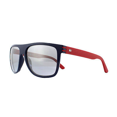 Tommy Hilfiger Sunglasses TH 1277 S FEQ 3R Blue Red Grey Silver Mirror f706859989