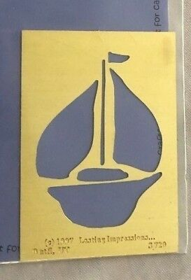Stencil Welcome Lake Sail Boat Seagull Ocean Lake House Cabin Nautical Art sign