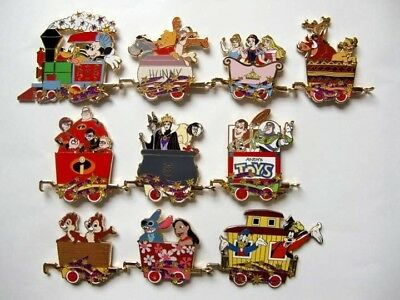 Disney Pin - HKDL - Magical Train Mystery Collection(Complete Set)