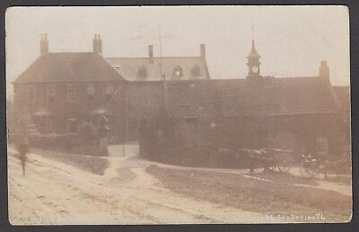 Postcard Chesterfield property named Major Bowdens posted 1905 Barlborough RP