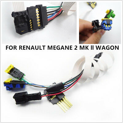 Fit For Renault Megane MK 2 WAGON Wire Clock Spring Spiral Cable Airbag OE Parts