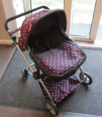 Molly Dolly Babyboo Deluxe Twin 2 in 1 Doll Stroller/Pram.