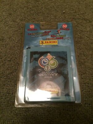 Panini World Cup WC WM 2006 - rare 10 packet blister pack