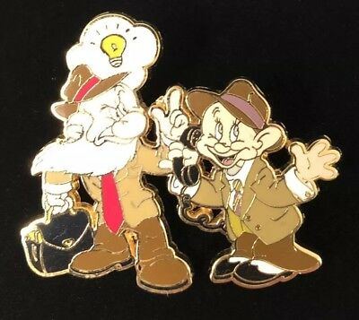 Disney LE 250 Dressed Up As Detectives Dopey Grumpy Dwarf PIN
