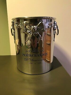 "Rare Vintage ""MOET & CHANDON"" Champagne, wine cooler, ice bucket, 250th ann."