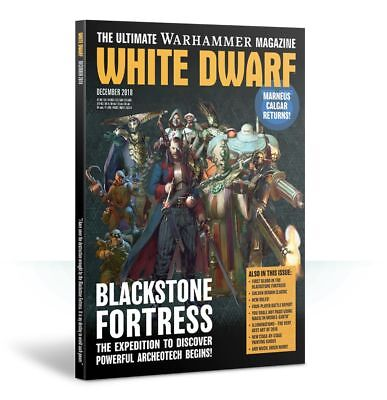 Games Workshop White Dwarf December 2018 Merry Christmas!! New!