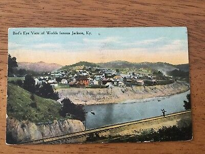 1911 Postcard Bird'S Eye View Of Worlds Famous Jackson, Ky.