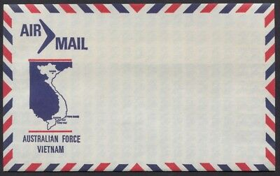Australia Airmail Military Envelope For Use by Australia Forces in Vietnam