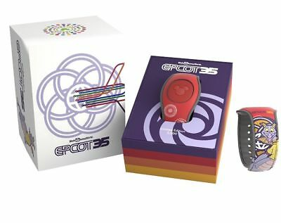 Disney Epcot 35th Anniversary Red Figment LE Magic Band 5000 Limited Magicband 2