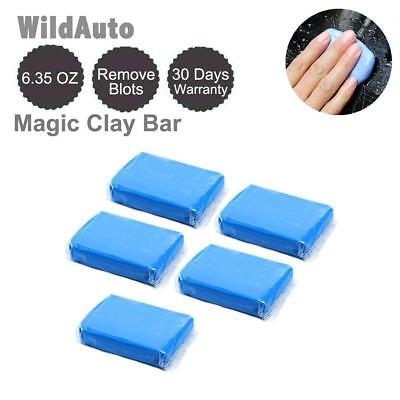 Car Clay Bars Auto Detailing 5Pcs Chemical Guys Bar for Wash Cleaner Magic NEW