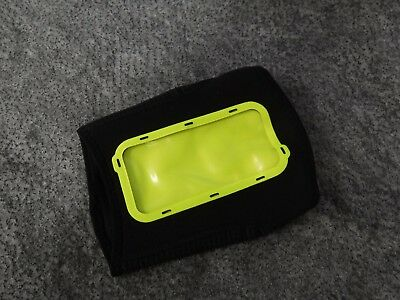 Nike Evolution Arm Phone Sleeve iPhone L/XL Gym Walking Running Black Neon